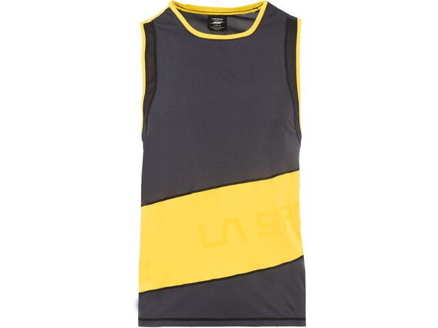 La Sportiva Track Débardeur Homme, black/yellow